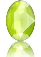 Swarovski 4120 MM 14,0X 10,0 CRYSTAL LIME_S(144pcs)