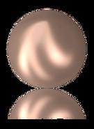 2081/2 Crystal Rose Gold Pearl W_PRHF (001 769)