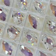 Swar Pendant 6106 - 22mm, Crystal Shimmer (001 SHIM), 2pcs