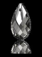 Swarovski 6565 MM 18,0 BLACK DIAMOND LTCHROMEZ MCI(36pcs)