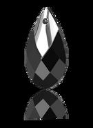 Swarovski 6565 MM 22,0 JET LTCHROMEZ MCI(24pcs)