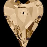Swarovski Pendant 6240 - 12mm, Crystal Golden Shadow (001 GSHA), 108pcs