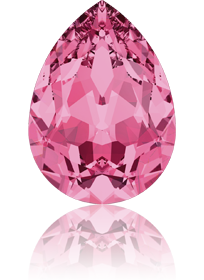 4320 - 18*13mm, Crystal Rose