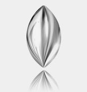 2208/4 - 10*5.5mm, Crystal Light Chrome Pearl (F)