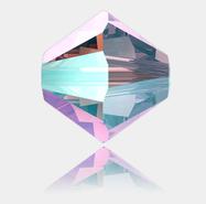 4mm, Crystal Light Amethyst Shimmer 2X