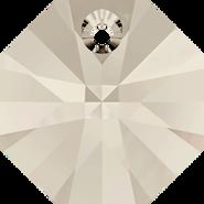 Swarovski Pendant 6401 - 12mm, Crystal Silver Shade (001 SSHA), 144pcs