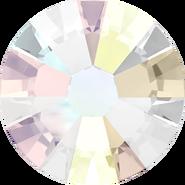 Swarovski Flatback 2058 - ss7, Crystal Aurore Boreale (001 AB) Foiled