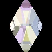 2709 - 10x6mm, Crystal Aurora Boreale, (Foiled)