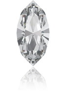 4228 - 8x4mm, Crystal (Foiled) (001)
