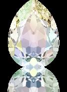 4320 - 6x4mm, Crystal AB (001 AB) Foiled