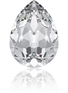 4320 - 6x4mm, Crystal (001) Foiled
