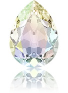 4320 - 8x6mm, Crystal AB (001 AB) Foiled