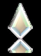 2771 - 6.4 x 4.2mm, Crystal Aurora Boreale (001AB)