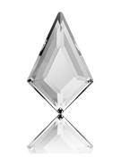 Swarovksi Flatback 2771 - 8.6 x 5.6mm, Crystal (001) Foiled, No Hotfix, 216pcs