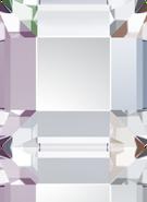 2400 - 2.2mm, Crystal Aurora Boreale (Foiled)