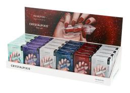 Crystal Pixie - Edge, White Cardboard Display