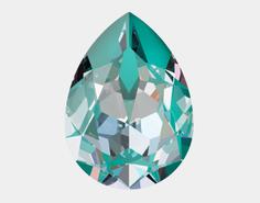 Swarovski Fancy Stone 4320 - 14x10mm, Crystal Laguna DeLite (001 L142D), 144pcs
