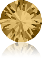 Swarovski Round Stone 1028 - pp18, Light Colorado Topaz (246) Foiled, 96pcs
