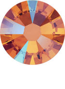 Swarovksi Flatback 2058 - ss5, Tangerine Shimmer (259 SHIM)Foiled, No Hotfix,  96pcs