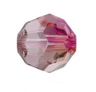 Swarovski Bead 5000 - 8m, Light Amethyst Shimmer (212 SHIM), 12pcs