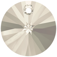 Swarovski Pendant 6428 - 12mm, Crystal Silver Shade (001 SSHA), 144pcs