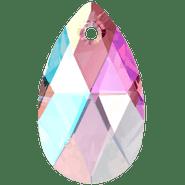 Swarovski Pendant 6106 - 22m, Light Amethyst Shimmer (212 SHIM), 2pcs