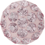 Swarovski Cabochon PAVE 86601 - 6mm, Light Rose (223), Rose (06)