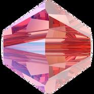 Swarovski Bead 5328 Rose Peach Shimmer (262 SHIM)
