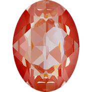 Swarovski Fancy Stone 4120 - 18x13mm, Crystal Orange Glow DeLite (001 L146D), 48pcs
