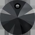 Swarovski Pendant 6428 - 8mm, Jet (280), 144pcs