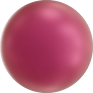 Swarovski Crystal Pearl 5818 - 6mm, Crystal Mulberry Pink PRL (001 2018), 500pcs
