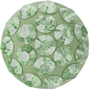 Swarovski Cabochon PAVE 86601 - 6mm, Peridot (214), Light Green (10)