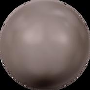Swarovski Crystal Pearl 5810 - 10mm, Crystal Brown Pearl (001 815), 100pcs