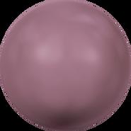 Swarovski Crystal Pearl 5810 - 10mm, Crystal Burgundy Pearl (001 301), 100pcs