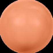 Swarovski Crystal Pearl 5810 - 10mm, Crystal Coral Pearl (001 816), 100pcs