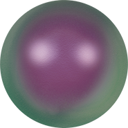 Swarovski Crystal Pearl 5810 - 10mm, Crystal Iridescent Purple Pearl (001 943), 100pcs