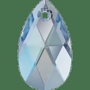 Swarovski Pendant 6106 - 22mm, Aquamarine Shimmer (202 SHIM), 96pcs