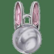190001 Crystal Lavender Pearl (001 524), Blush Rose (257)