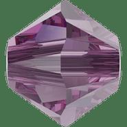 Swar Crystal Bead 5328 - 6mm, Iris (219), 20pcs