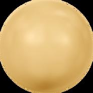Swarovski Crystal Pearl 5810 - 5mm, Crystal Gold Pearl (001 296), 500pcs
