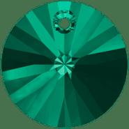 Swarovski Pendant 6428 - 8mm, Emerald (205), 12pcs