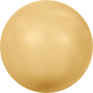 Swarovski Crystal Pearl 5810 - 8mm, Crystal Gold Pearl (001 296), 250pcs
