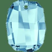 Swarovski Pendant 6685 - 19mm, Aquamarine (202), 1pc