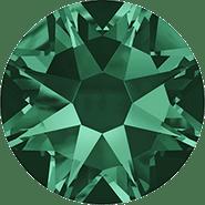 Swarovski Flatback 2088 - ss16, Emerald (205) Foiled, No Hotfix, 36pcs
