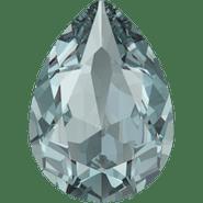 Swar Crystal Fancy Stone 4320 - 14x10mm, Aquamarine Ignite (202 IGNIT) Unfoiled, 4pcs