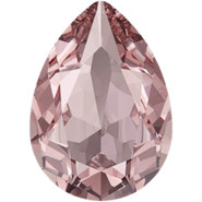 Swarovski Fancy Stone 4320 - 14x10mm, Light Rose Ignite (223 IGNIT) Unfoiled, 4pcs