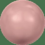 Swarovski Crystal Pearl 5810 - 4mm, Crystal Pink Coral Pearl (001 716), 100pcs