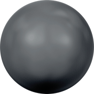 Swarovski Crystal Pearl 5810 - 6mm, Crystal Black Pearl (001 298), 500pcs