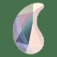 Swar Crystal Flatback 2364 - 6x3.7mm, Crystal AB (001 AB) Foiled, No Hotfix, 12pcs