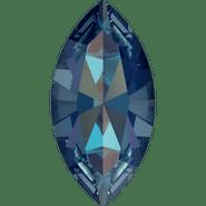Swar Crystal Fancy Stone 4228 - 10x5mm, Crystal Royal Blue DeLite (001 L110D) Unfoiled, 6pcs